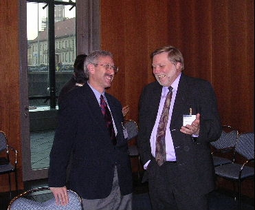 Scott and Dr. Karl-Heinz Neumann, Berlin, 2003